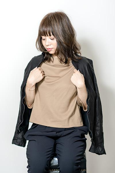 マニッシュ × キュート リラックスミディ PHOTO1